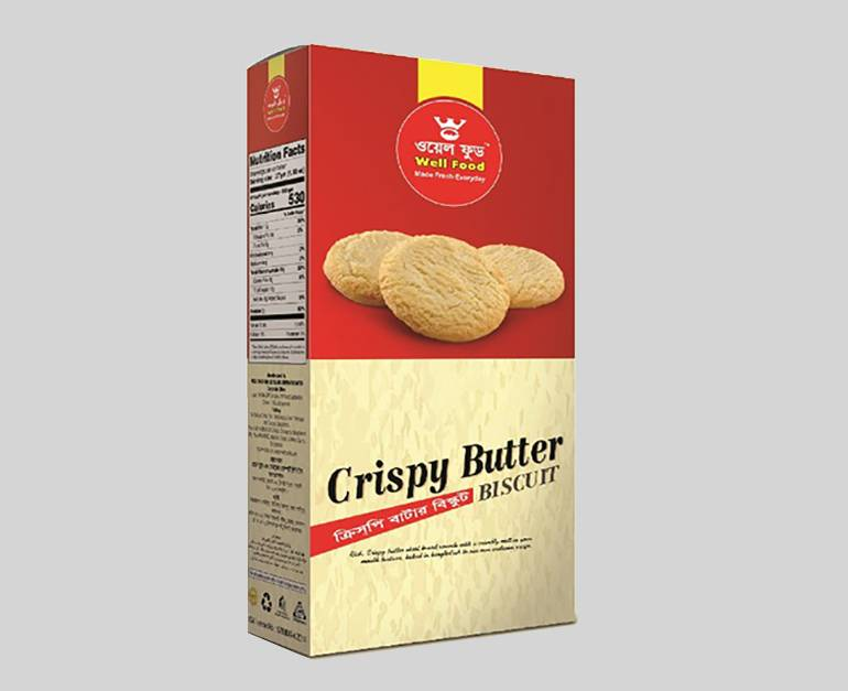 Well Crispy Butter Biscuits